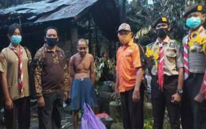 Kwarcab Pramuka Kapuas Salurkan Bantuan Korban Terdampak Kebakaran