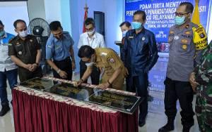 Bupati Kotim Resmikan Gedung Pelayanan PDAM Dharma Tirta Mentaya Sampit Bernilai Rp 6,2 Miliar