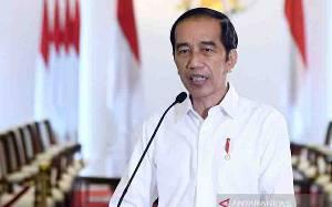Jokowi Sebut Aspirasi Pers Ditampung di UU Cipta Kerja
