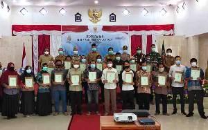 500 SertifIkat Tanah Program PTSL Diserahkan kepada Masyarakat Sukamara