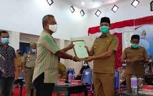 Bupati Sukamara Ajak Masyarakar Ikuti Program PTSL