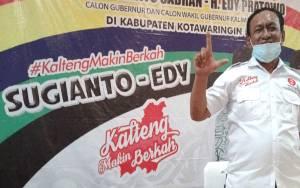 Subahagio Nilai Sugianto Sabran Sudah Tunjukkan Kinerja Membangun Kalteng