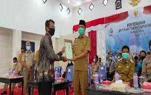 BPN Sukamara Harapkan Dukungan Pelaksanaan Program PTSL