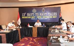 TNI AL Perkuat Kerja Sama Militer dengan AL Australia dalam NTNT ke-13