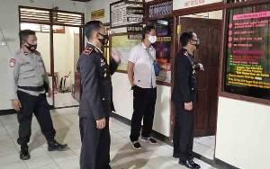 Kapolres Barito Timur Sambangi Polsek Dusun Tengah