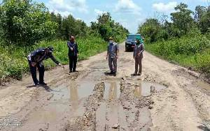 Dorong Pemerataan Pembangunan Infrastruktur Jalan di Pulang Pisau