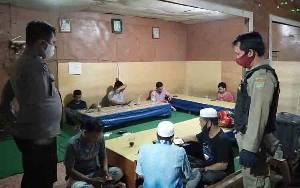 Polsek Dusun Tengah Tindak Pelanggar Protokol Kesehatan