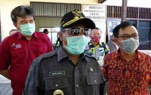 Plt Gubernur Kalteng Pantau Penyaluran Bantuan Sosial Tahap 2 di Kapuas