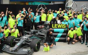 Rebut Titel Ketujuh F1, Hamilton: Perjuangan Baru Saja Dimulai