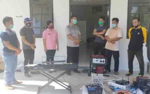 Karang Taruna 3 Kecamatan Terima Bantuan dari Dinas Sosial Gunung Mas