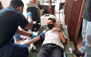 Rayakan Ulang Tahun ke 30, Jemmy Adriyanor Rasyid Gelar Donor Darah