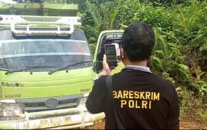 Tim Mabes Polri Ungkap Dugaan Ilegal Logging di Sanaman Mantikei