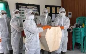 Pemakaman Jenazah Pasien Covid-19 di Sukamara Sesuai Protokol Kesehatan