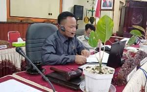 DPRD Barito Timur Lanjutkan Rapat Paripurna RAPBD 2021