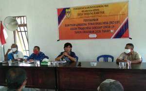 Desa Tanjung Karitak Akhirnya Salurkan BLT DD Tahap I