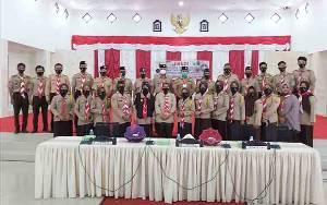 Kwarcab Sukamara Edukasi Anggota Cegah Transmisi Lokal Covid-19