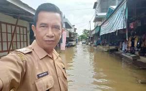 Sejumlah Wilayah Kecamatan di Katingan Kembali Banjir