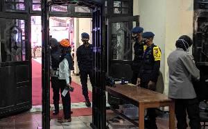Puluhan Personel TNI Polri Amankan Debat Perdana Pilkada Kotim 2020