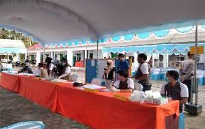 KPU Sukamara Simulasi Pemungutan dan Penghitusan Suara Sesuai Protokol Kesehatan