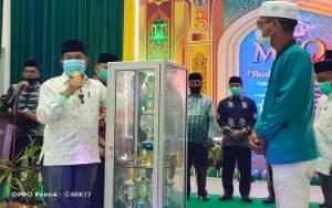 Terapkan Protokol Kesehatan, Wakil Bupati Murung Raya Buka MTQ Tingkat Kabupaten