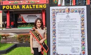 Duta Humas Polda Kalteng Ajak Kaum Milenial Sukseskan Pilkada