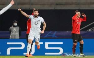 Giroud Antar Chelsea Jadi Tim Pertama Lolos ke Babak 16 Besar