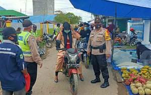 Masih Ditemukan Warga Tidak Gunakan Masker pada Operasi Yustisi di Kecamatan Kapuas Murung
