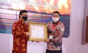 Implementasi JKK-RTW BPJAMSOSTEK Kembali Diganjar Penghargaan