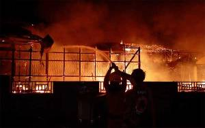 Sekolah dan rumah di Muara Teweh Terbakar