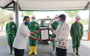 Bantuan Pikap Operasional PMI Kalteng Diserahkan