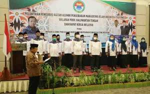 Pengurus IKA PMII Kalteng Periode 2019-2024 Dilantik