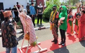 Danrem 102 Panju Panjung Berkunjung ke Murung Raya