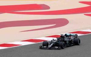 Hamilton Tercepat di FP1 Grand Prix Bahrain