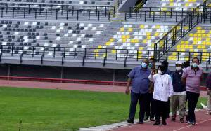 Renovasi Luar Stadion GBT Surabaya Dikebut Jelang Piala Dunia U-20