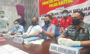Anggota Polda Kalteng Ciduk 2 Narapidana Narkotika Lapas Kasongan