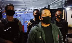 Polisi Gerebek Judi Kartu di Pahandut Seberang, 4 Orang Diamankan