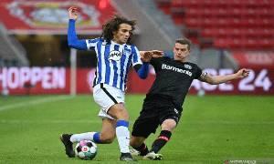 Imbang Lawan Hertha, Leverkusen Perpanjang Rekor Tidak Terkalahkan