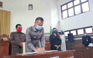 Raperda APBD Kabupaten Gunung Mas 2021 Disetujui