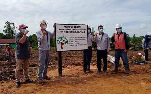 Peringati Hari Menanam Pohon Indonesia, Korintiga Hutani Tanam Pohon Eucalyptus Pellita Jenis Baru