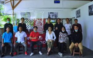 Monica Putri Kunjungi Pengusaha Milenial di Palangka Raya