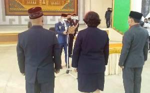 Bupati Barito Selatan Lantik 102 Pejabat dan Direktur RSUD Jaraga Sasameh Buntok
