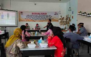 KPU Kalteng Gelar Sosialiasi Pilgub dengan Protokol Kesehatan di Sukamara