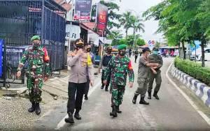 Tim Patroli Disiplin Covid 19 Barito Utara Imbau Warga Tetap Terapkan Protokol Kesehatan
