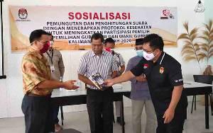 KPU Kalteng Yakinkan Masyarakat Suara Pemilih Penting