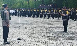Polda Kalteng Kerahkan 568 Personel Gabungan Pengamanan Debat Publik Terakhir