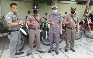 Personel Satpol PP Kapuas Bentuk Tim Kendaraan Bermotor Patroli Jaga Trantibum