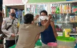 Malam-malam, Personel Polsek Dusun Timur Gelar Operasi Yustisi