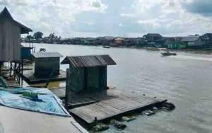 Jamban Bakal Disterilkan, Pinggiran Sungai Arut Bakal Dijadikan Wilayah Wisata Kuliner