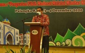 Plt Gubernur Kalteng Ingatkan agar Pelatihan Khatib Muda Perhatikan Protokol Kesehatan