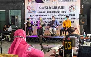 KPU Kotim Gencar Sosialisasi untuk Tingkatkan Partisipasi Pemilih
